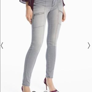 White House Black Market Ankle Jeans, size 0